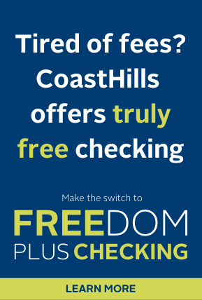 Why pay fees? Click here to learn more about Freedom Plus Checking.