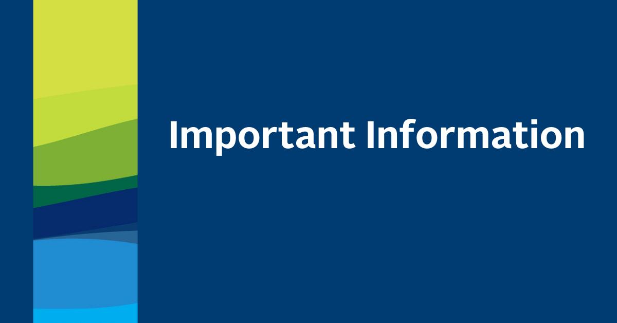 Important Info Blog Banner