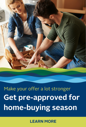 Make your offer a lot stronger. Get pre-approved for home-buying season. Click here to learn more.