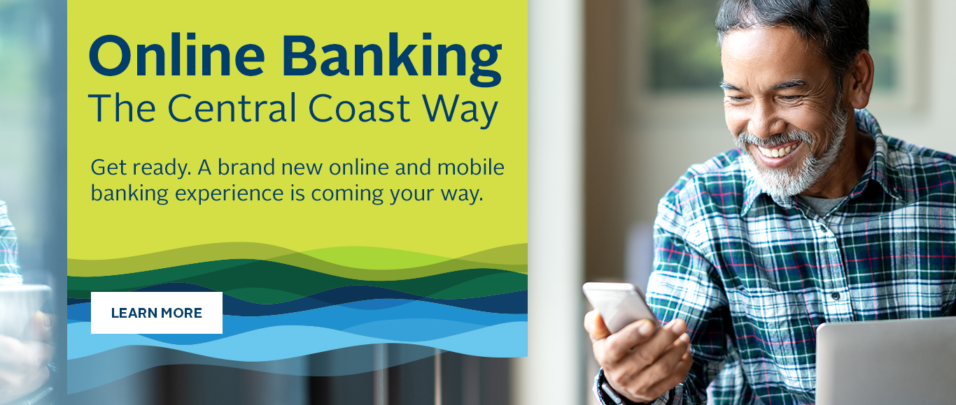 A new way to bank online.