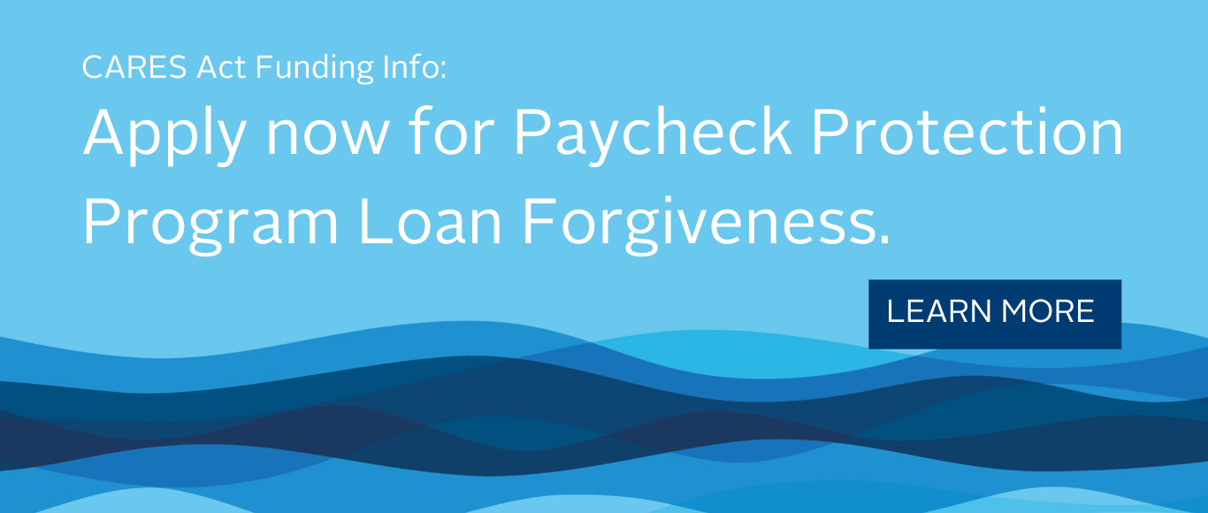 Apply now for PPP Loan Forgiveness.