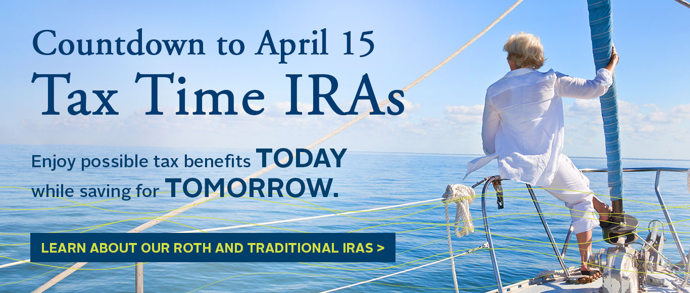 Tax time - Get an IRA!
