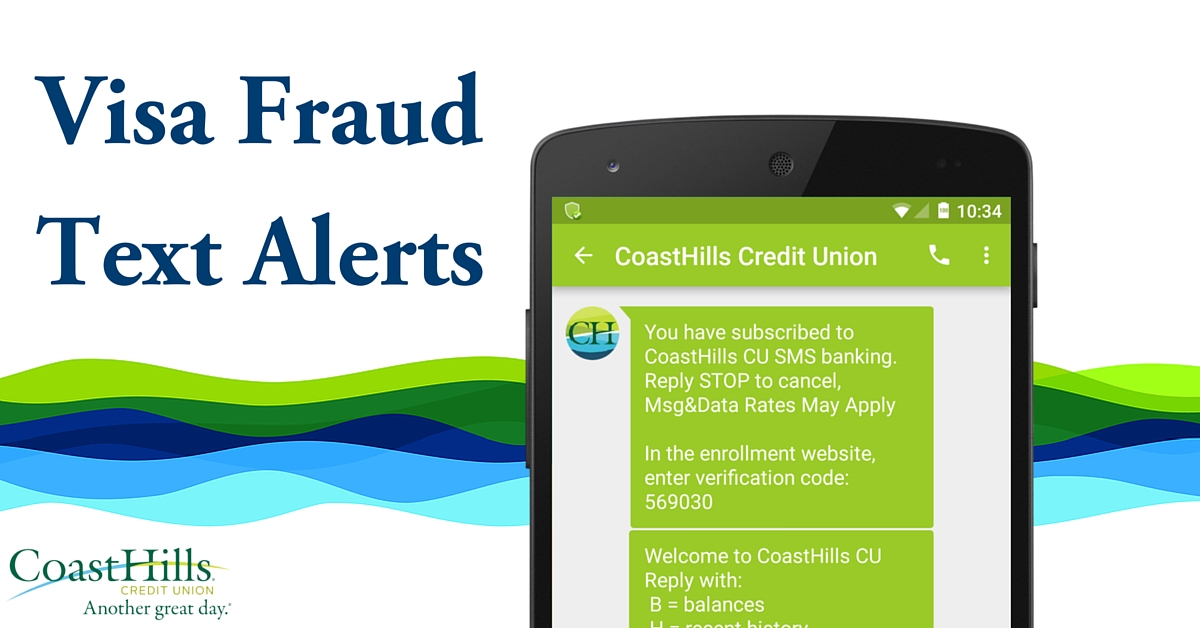 Visa Fraud Text Alerts
