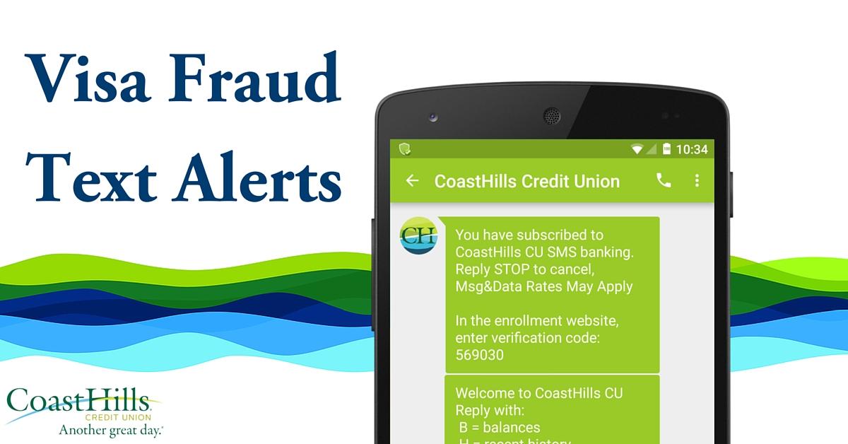 Visa Fraud Text Alerts